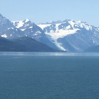 Glacier Bay  balcony view