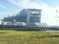 The Caribbean Princess in Charleston, SC.
