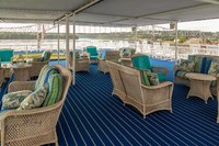 Shaded outdoor lounge, deck 4
