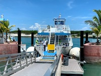 Tender to take you back to ship from Great Stirrup Cay