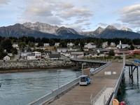 Haines Alaska, Shuttle available to travel from ship to town