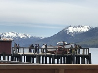 The dock at Icy Strait Point, Alaska