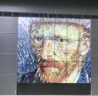 No photos allowed in the Ban Gogh Museum of any artwork except for these fu