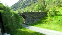 The winding road with awesome scenes in Geiranger
