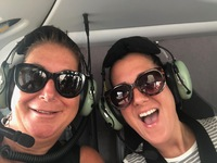 Thank you Alonya for getting us cleared for the Helicopter Ride over Monaco
