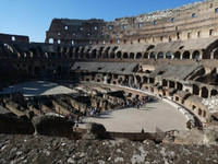 The Colloseum in Rome