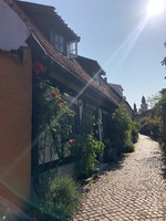 Cute little street in Visby