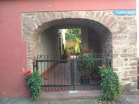 Garden gate in Wertheim, Germany