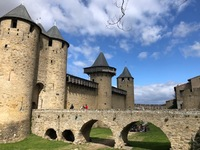 Carcassonne, one of the excursions in France.
