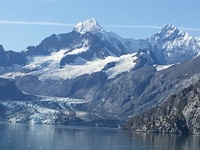 The Johns Hopkins Glacier, Glacier Bay, Alaska