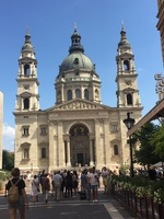 Beautiful St Stephen's Basilica in Budapest