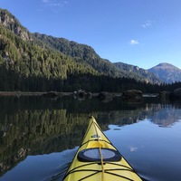 Kayaking in Tracy Arm