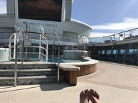 Warm sunny pool day in Ketchikan