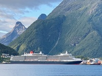 Queen Elizabeth from Åndalsnes