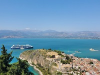 ship in Nafplio, Greece