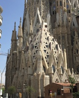 Basilica of the Sagrada, Barcelona, Spain