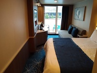 big stateroom, good layout