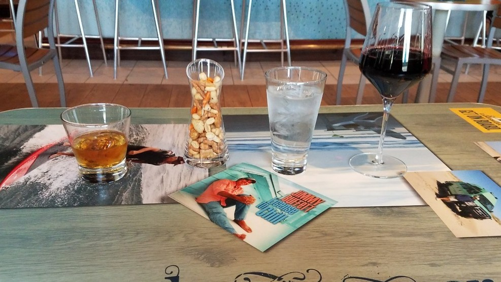 Cocktail hour at the 5 oclock Somewhere bar