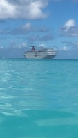 Our ship from carnivals own private island!