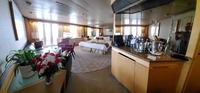 wide-angle view of our Neptune Suite, Veendam