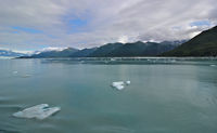 Yakutat Bay on the way to Hubbard Glacier.  Taken from just outside our sta