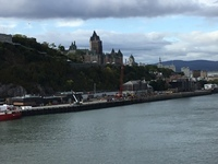 Quebec from sea