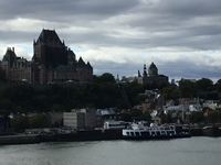 Quebec on departure