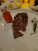 Waygu steak at steakhouse