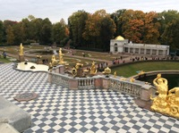 The Gardens of Peterhof.
