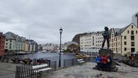 Alesund harbor