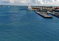 Docked in Key West, instead of Havana Cuba.