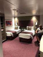 Handicap room with beds separated