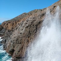 La Bufadora - The blowhole in action!