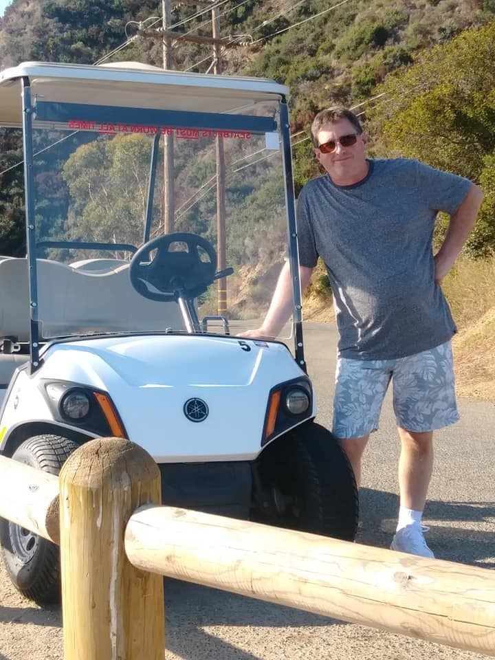 Golf cart rental on Catalina Island. Great way to tour the island and see t