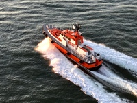 Pilot boat in San Francisco.