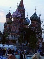 St.Basil Church Red Square Moscow