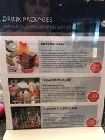 On board drink package prices