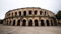 The Arena (built by the Romans!) in Nimes, France