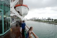 Empress of the Seas deck six outside
