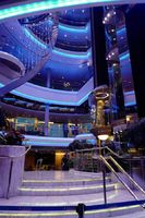 Empress of the Seas main atrium