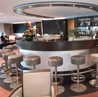 Bar in main lounge
