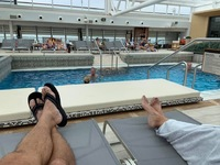 Pool on the Viking Orion