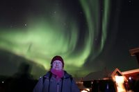 The Northern Lights at Paeskatun.
