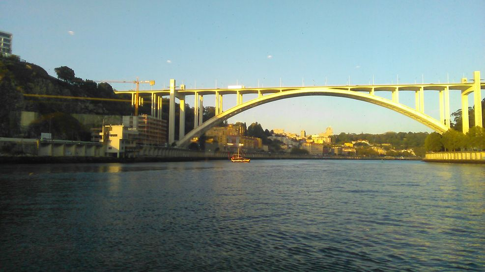 One of the many splendid bridges over the Douro