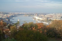 Budapest, Hungary from The Liberty Statue of Freedom