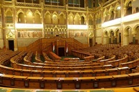Hungarian Parliament Assembly Hall.