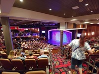 The theater on board Independence of the Seas. November 2018.
