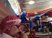 Excursion to Wadi Rum. Lunch at a Bedouin Camp. Visit uninteresting places,
