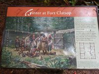 The ranger at Fort Clatsop was very well informed and entertaining.