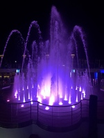 The water show/fountains on the last night. pretty but the fountains weren&
